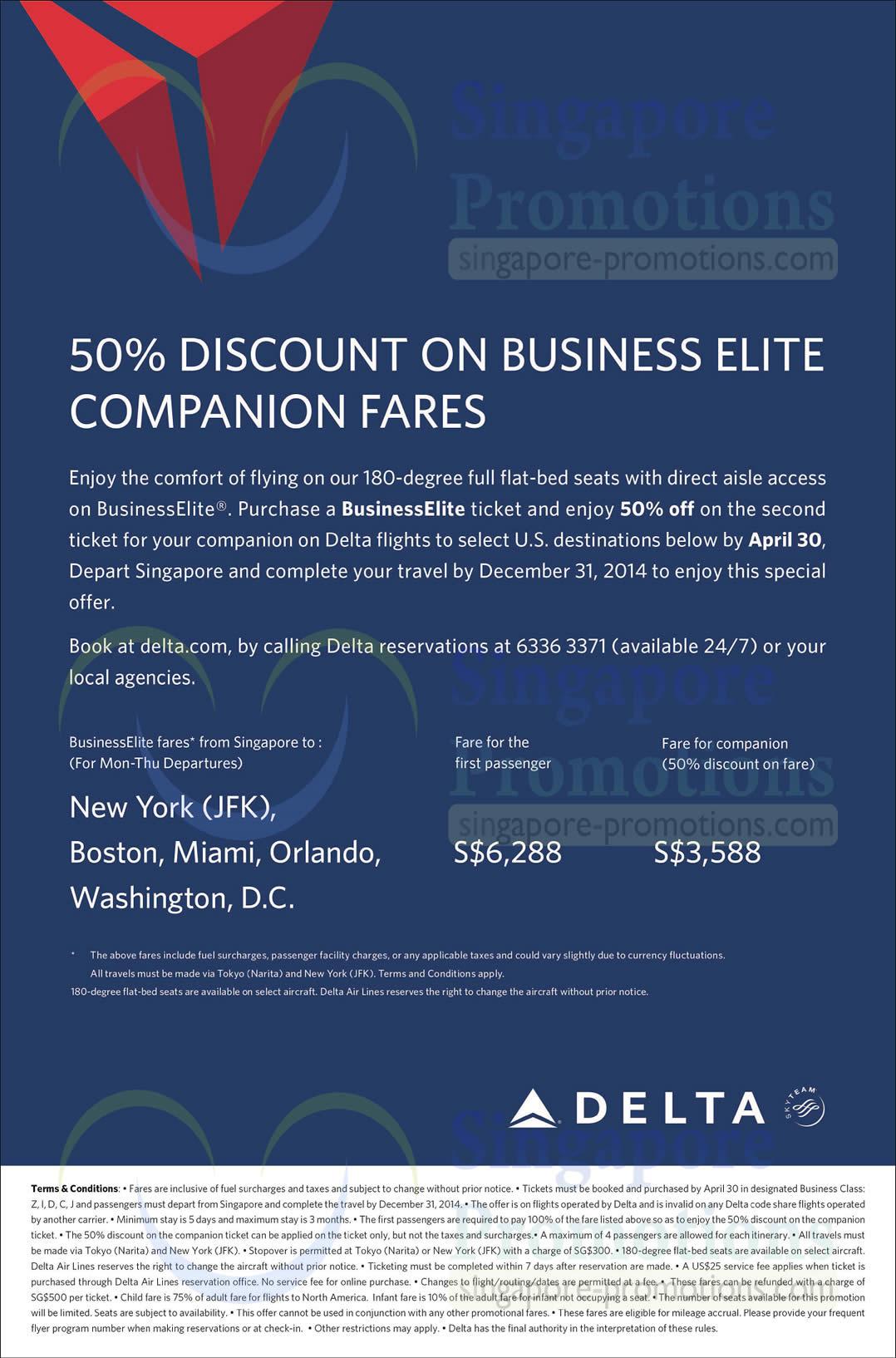 Delta Air Lines 6 Mar 2014