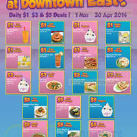 Read more about Downtown East Up To 50% OFF Daily Deals 1 - 30 Mar 2014