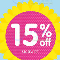 Read more about Early Learning Centre 15% OFF Storewide @ Paragon 21 - 23 Mar 2014