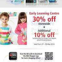 Read more about Early Learning Centre 30% + 10% OFF Storewide Promo 27 - 30 Mar 2014