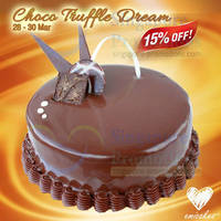 Read more about Emicakes 15% OFF Choco Chiffon Truffle Dream Promo 28 - 30 Mar 2014