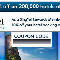 Read more about Expedia 10% Off Hotels Coupon Code For Singtel Customers 8 Apr - 30 Jun 2014
