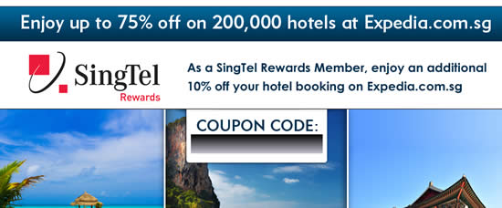 Expedia Singtel 31 Mar 2014