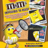 Read more about M&M's FREE Gift(s) With Minimum $8 Purchase 7 Mar - 15 Apr 2014