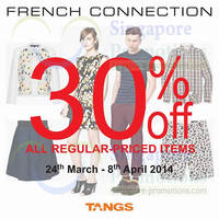 Read more about French Connection FCUK 30% OFF Storewide @ Tangs 24 Mar - 8 Apr 2014