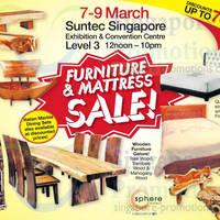 Read more about Furniture & Mattress SALE @ Suntec Convention Centre 7 - 9 Mar 2014