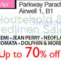 Read more about Household & Bedlinen SALE @ Isetan Parkway Parade 7 - 13 Apr 2014