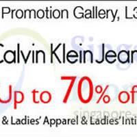 Read more about Calvin Klein Jeans Promo @ Isetan Scotts 11 - 17 Apr 2014