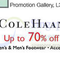 Read more about Isetan Cole Haan Footwear & Accessories Promo @ Isetan Scotts 14 - 20 Mar 2014
