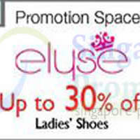 Read more about Isetan Elyse Ladies Shoes Promotion @ Isetan Orchard 13 - 23 Mar 2014