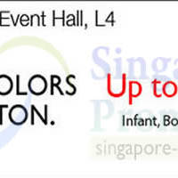 Read more about United Colors of Benetton Promo @ Isetan Scotts 11 - 17 Apr 2014