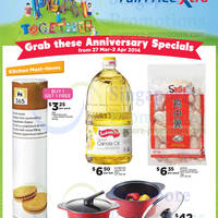 Read more about NTUC Fairprice Electronics, Appliances, Groceries & Other Offers 27 Mar - 9 Apr 2014