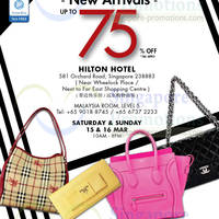 Read more about LovethatBag Branded Handbags Sale Up To 75% Off @ Hilton Hotel 15 - 16 Mar 2014