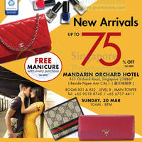 Read more about LovethatBag Branded Handbags Sale Up To 75% Off @ Mandarin Orchard 30 Mar 2014