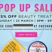 Read more about Luxola 25% OFF Beauty Items (NO Min Spend) 2Hr Coupon Code 23 Mar 2014