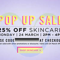 Read more about Luxola 25% OFF Skincare (NO Min Spend) 2Hr Coupon Code 24 Mar 2014