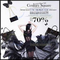 Read more about Luxury City Branded Handbags SALE @ Century Square 7 - 13 Mar 2014