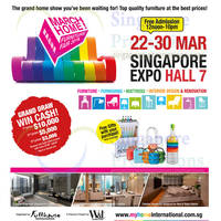 Read more about March Home Show @ Singapore Expo 22 - 30 Mar 2014