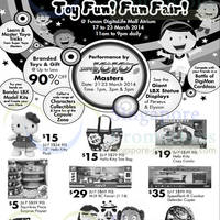 Read more about Megcorp Toys Fun Fair @ Funan Digitalife Mall 17 - 23 Mar 2014