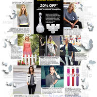 Read more about Metro 20% OFF Ladies Apparel, Bags, Shoes, Accessories & More 21 Mar - 13 Apr 2014