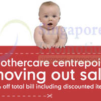Read more about Mothercare Moving Out SALE @ Centrepoint 6 - 23 Mar 2014