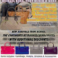 Read more about MyBagEmpire Branded Handbags & Accessories Sale @ Compass Point 10 - 16 Mar 2014