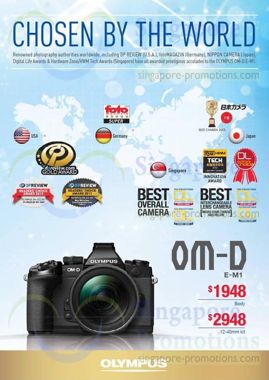 OM-D E-M1 Digital Camera
