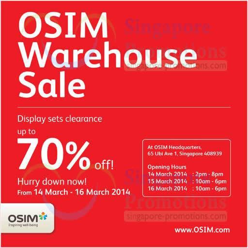 OSIM 12 Mar 2014