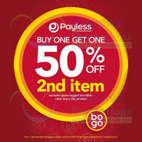 Read more about Payless Shoesource 50% OFF 2nd Item Promo 5 Mar 2014