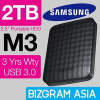 Samsung $122 2TB USB 3.0 M3 External Storage Drive Deal 5 - 6 Sep 2015