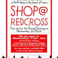 Read more about Red Cross Shop Grand Opening @ Red Cross House 26 Mar 2014