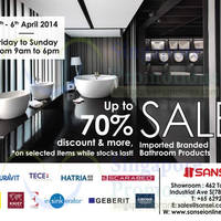 Read more about Sansei Up To 70% OFF SALE 4 - 6 Apr 2014