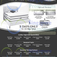 Read more about SleepSavvy Simmons Mattress Offers @ Enterprise One Building 21 Mar 2014