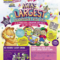 Read more about SmartKids Asia Fair @ Singapore Expo 21 - 23 Mar 2014