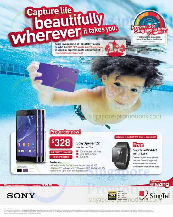 Sony Xperia Z2 Pre-Order