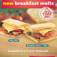 Read more about Subway NEW Breakfast Melts 5 Mar 2014
