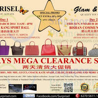 Read more about Surprisel Branded Handbags Sale Up To 75% Off @ Two Locations 8 - 9 Mar 2014