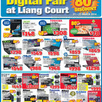 Read more about Audio House Electronics, TV, Notebooks & Appliances Offers @ Liang Court 21 - 23 Mar 2014