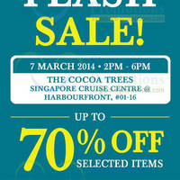 Read more about The Cocoa Trees Flash Sale @ Harbourfront Singapore Cruise Centre 7 Mar 2014