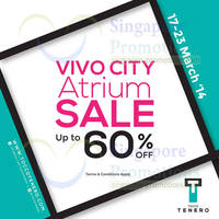Read more about Tocco Tenero Up To 60% OFF SALE @ VivoCity 17 - 23 Mar 2014