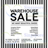 Read more about Wearto.com Ladies Footwear Warehouse SALE @ Midview City 8 - 9 Mar 2014