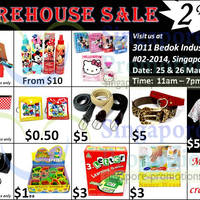 Read more about Branded Warehouse SALE @ Bedok Industrial Park 25 - 30 Mar 2014
