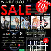Read more about YG Marketing Warehouse SALE Up To 70% OFF @ Kallang Bahru 13 - 16 Mar 2014