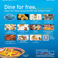 Read more about Citibank 1 For 1 Buffet & Dining Deals 27 Apr - 8 Jun 2014