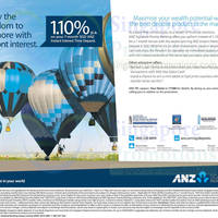 Read more about ANZ 1.10% p.a. SGD Time Deposit Promo 8 Apr 2014