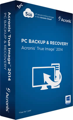 Acronis True Image 2014 Box