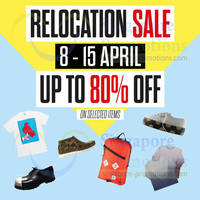 Read more about Actually Up To 80% OFF Relocation SALE 8 - 15 Apr 2014