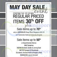 Read more about Aerosoles 30% OFF Storewide May Day SALE From 1 May 2014