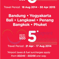 Read more about Air Asia From $0 Air Fares Mega SALE 21 - 27 Apr 2014