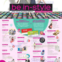 Read more about Bedok Mall Be In-Style Promotions 14 Apr - 11 May 2014